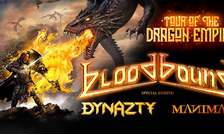 Bloodbound – Tour Of The Dragon Empire 2019 – MS Connexion Complex Mannheim – 26.03.2019