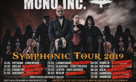 Mono Inc. – Symphonic Tour 2019 – Batschkapp Frankfurt – 21.03.2019