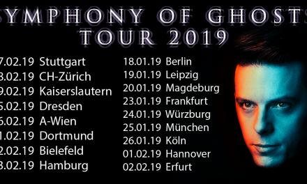 The Dark Tenor – Symphony of Ghosts – Live Music Hall Köln – 26.01.2019