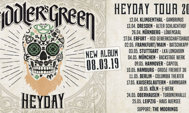 Fiddler's Green – HEYDAY – Tour 2019