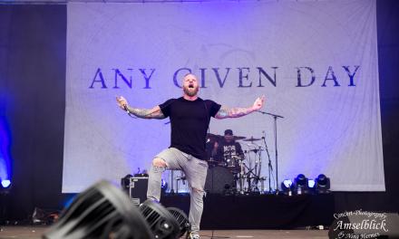 Any Given Day – Rockfels Festival – Amphitheater Loreley – 23.06.2018